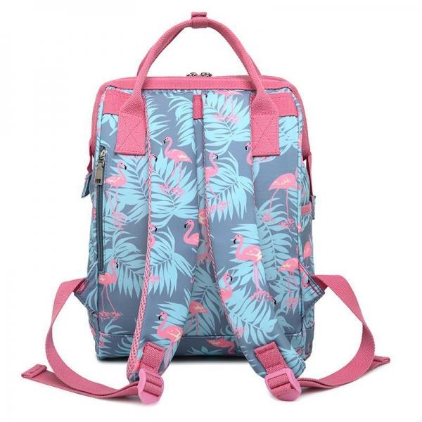 China New Durable printed comfortable female backpack CLN19-700