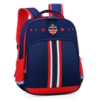 Wholesale New OEM British Style Stars Printed Primary School Bag Backpack 6392 from china suppliers