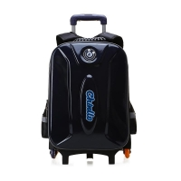Wholesale Korean Style EVA Nylon Boys Girls Trolley School Bag with Rain Cover 6382 from china suppliers