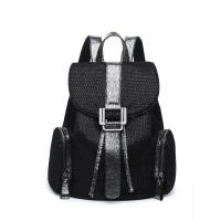 Buy cheap Fashion anti-thief PU girl bag elegant sequin ladies backpack CLN19-006 from wholesalers