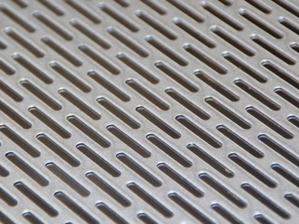 China Slotted Hole Perforated Metal