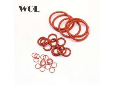 Quality red Sterling Seal ORSIL silicone o ring with Excellent Resistance to Oxygen Ozone Sunlight for sale