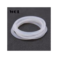 Wholesale free shipping clear FDA round vmq silicone o ring with resistant detergent salt water from china suppliers