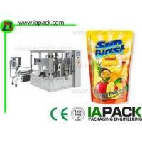 Buy cheap Rotary Fruit Juice Packaging Machine Liquid Filling Energy Saving from wholesalers