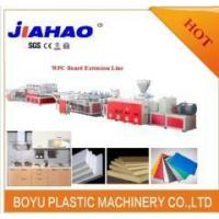 China WPC board making machine on sale