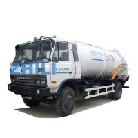 Quality dongfeng white color waste water truck sewage disposal tanker truck 10000L for sale