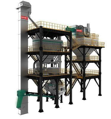 Quality Environment-friendly Storied-building Type Crushing Plant for sale