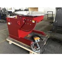 China 90 Degree Tilting Angle Welding Turn Table 3T Welding Positioners on sale