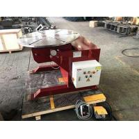 China Welding Rotating Table 1000kg Welding Positioners Remote Hand Control Box on sale