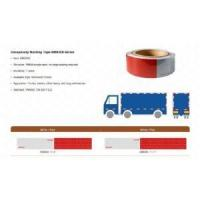 Buy cheap Red and White adhesive DOT-C2 Reflective Tape for truck from wholesalers