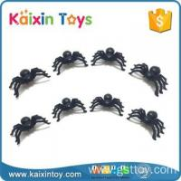 10265990 Realistic Design Halloween Tricky Small Black Spider Toys
