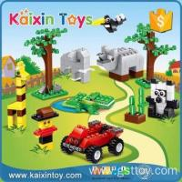 Wholesale 634 pcs educational plastic building block toys set from china suppliers