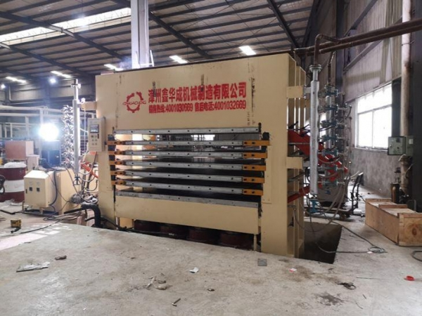 Quality Melamine Laminated Hot Press Machine for sale