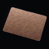 Wholesale Stainless Steel Color Sheet With Vibration Pattern from china suppliers