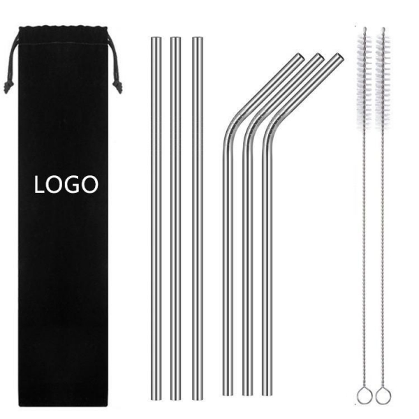 Quality 2019 Quick Seller Re-usable Stainless Steel Drinking Straw for sale