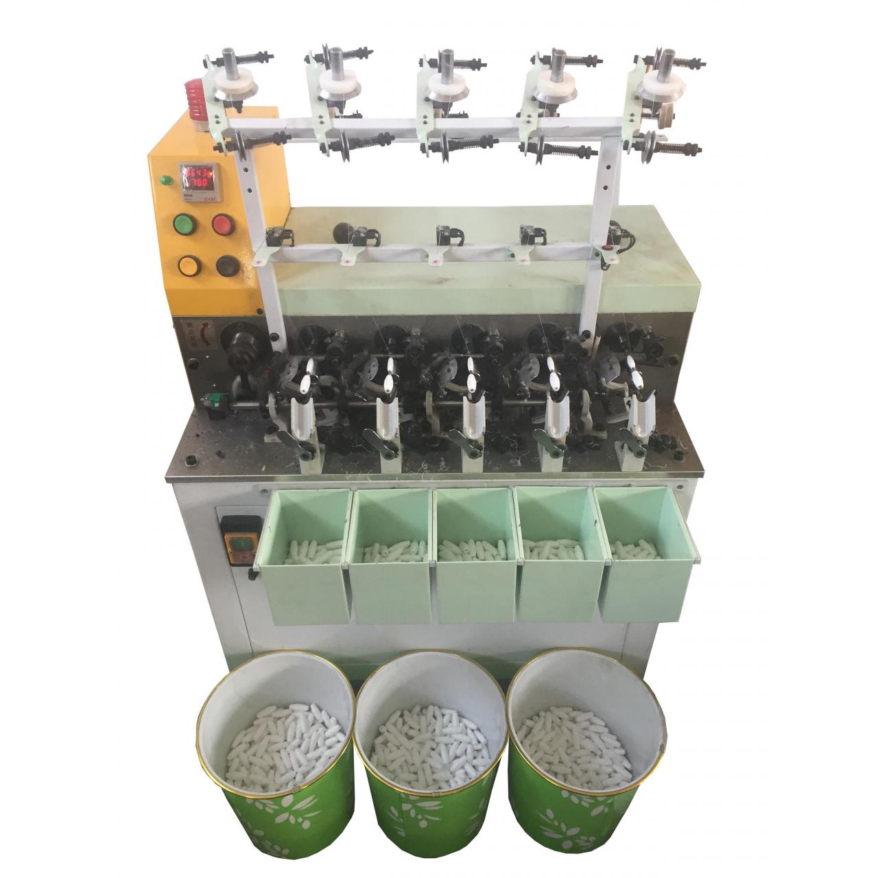 Wholesale QY-9 Five Head Automatic Stator Cocoon Bobbin Electric Motor Winding Machine Made In China from china suppliers