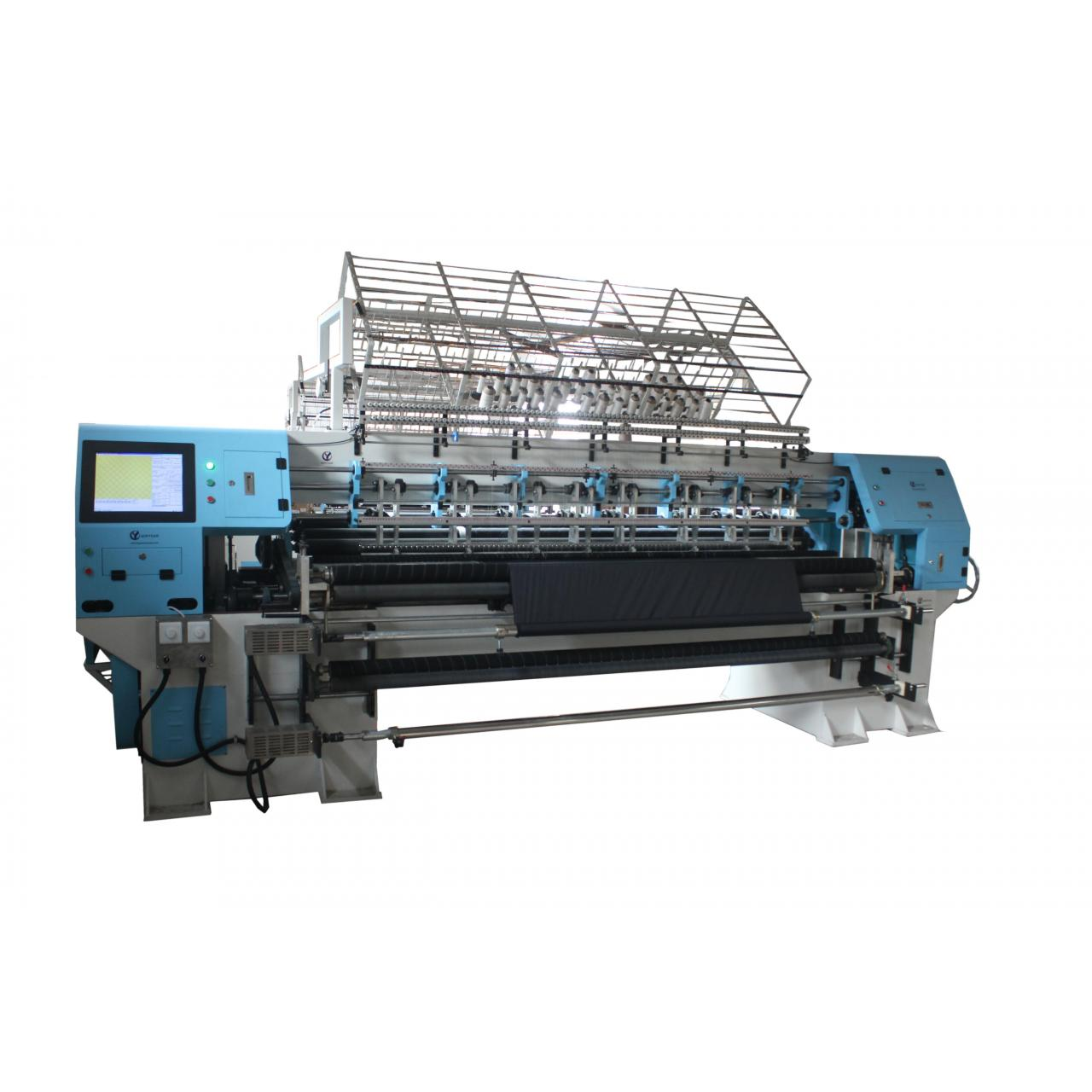 Wholesale machine quilting for beginner, qinyuan patchwork sewing and quilting machine from china suppliers