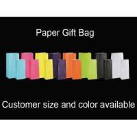 China Colors White Kraft Paper Gift Bag on sale