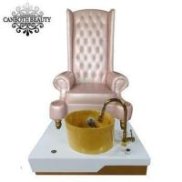 China luxury pedicure spa massage chair with manicure table for nail salon CB-FP001 on sale