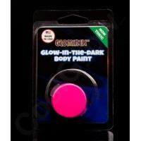 Wholesale Glominex Glow Body Paint Single Pack Clamshell - Pink from china suppliers