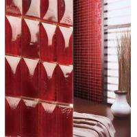 China Clear red glass luxury decoration for your interior design idea on sale