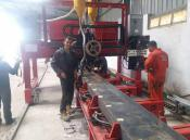Wholesale Trailer beam welding machine from china suppliers