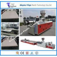 China Wood Plastic Composite WPC Board Machine / Production Line 1220mm Width on sale