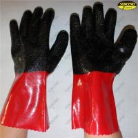 Wholesale Factory price red pvc coated working gloves from china suppliers