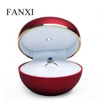 China Packaging Box Led Jewelry Box Red Led Ring Box on sale