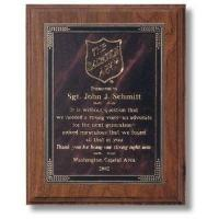 Plaques PW 1300 - Genuine Walnut