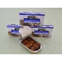 China 105G Smoked Oyster on sale