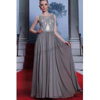Wholesale Grey jewel sleeveless beaded Ball gown ready wear SY031 from china suppliers