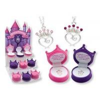 Buy cheap Children's & Baby's Gifts Princess Crown Pendant Necklace for Children from wholesalers