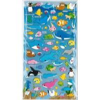 Buy cheap Greeting Cards and Stationary Sea Animal Puffy Stickers from wholesalers