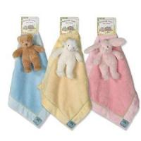 Buy cheap Children's & Baby's Gifts Small Blankie with Rattle from wholesalers