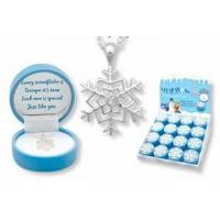 Buy cheap Children's & Baby's Gifts Snowflake Pendant Necklace for Children from wholesalers