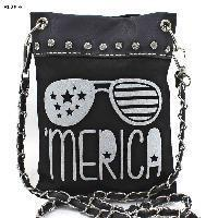 Buy cheap iPhone/Mini Messenger Bags IPB-MERICA-SG-BK-WT from wholesalers