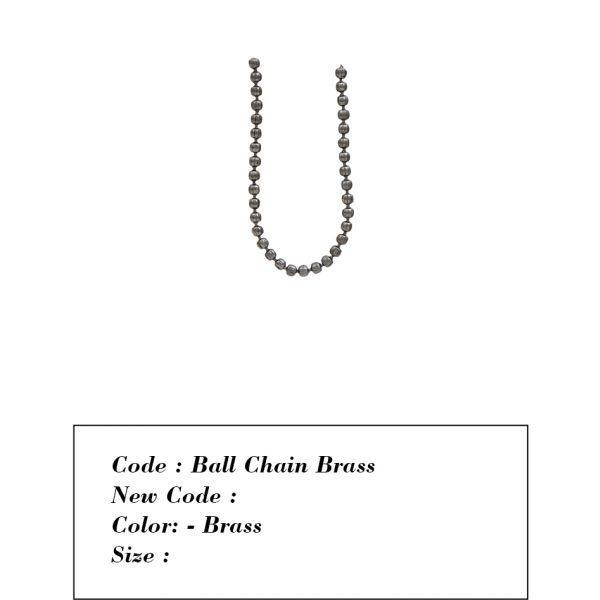 China Chains (Iron / Brass / Aluminium)