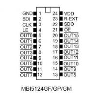 Buy cheap electronic products MBI5124GF from wholesalers