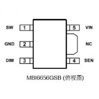 Buy cheap electronic products MBI6656GSB from wholesalers