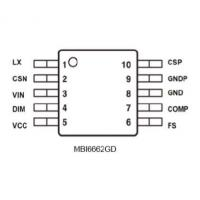 Buy cheap electronic products MBI6662GD from wholesalers