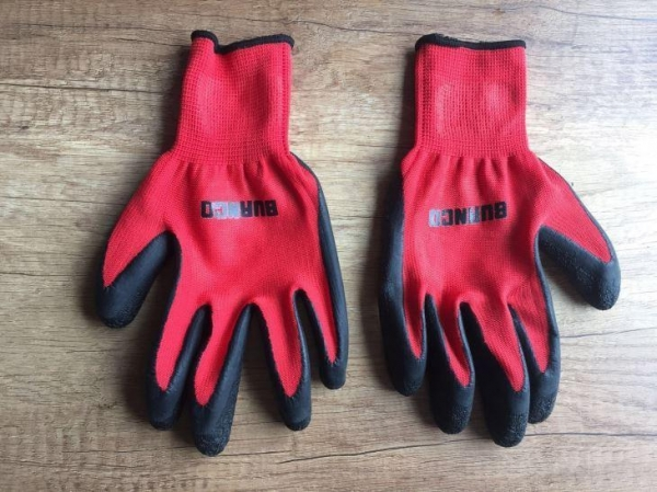 China Latex Coated Safety Gloves