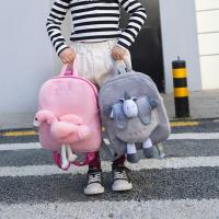 Buy cheap Customized Plush Flamingo Backpack from wholesalers