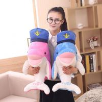 Buy cheap Soft Toy Lovely Dolphins With Navy Cap from wholesalers