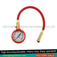 China Tire Pressure Gauge with Red Protector on sale