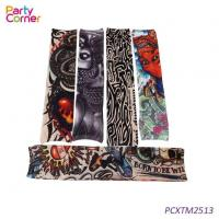 China Temporary Tattoo Arm Sunscreen Sleeves on sale