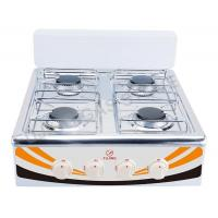 Wholesale Tempered glass top gas stove FJ-004BE from china suppliers