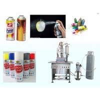 China Clear Coat Spray Paint Spray Paint Can Filling MachineSemi Automatic for sale