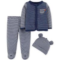 China Baby Wear Baby boy clothes 3 piece cotton baby set on sale