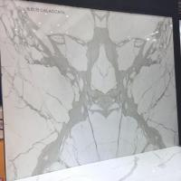 Polished Natural Calaccata White Marble Stone For Interior Decoration for sale
